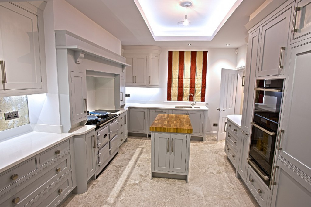 Bespoke Kitchen - hand painted