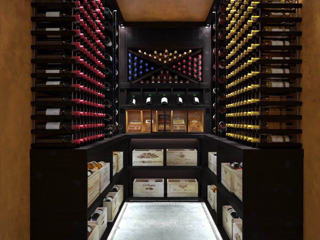 Wine Cellar with Humidor